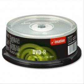 IMATION DVD+R 4.7Gb 16x CB 50/200