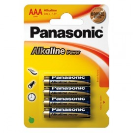 Элемент питания Panasonic  LR03 Alkaline Power SR4 (б/б) (48/240)