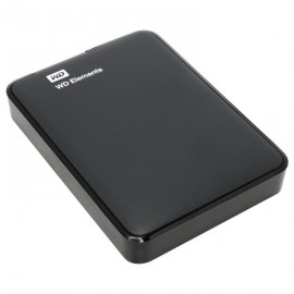 USB-Винт WD  2 TB  Elements Portable чёрный, 2.5