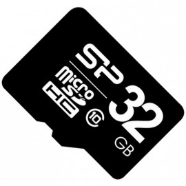 Micro SD 32GB Silicon Power Class 10 без адаптера