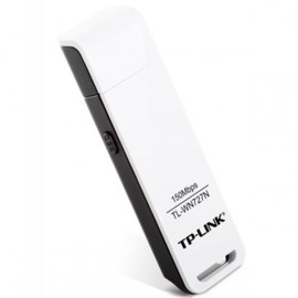 Адаптер Wi-Fi TP-Link БП TL-WN727N 150M Wireless Lite-N USB Adapter,Ralink chipset,1T1R,2.4Gh